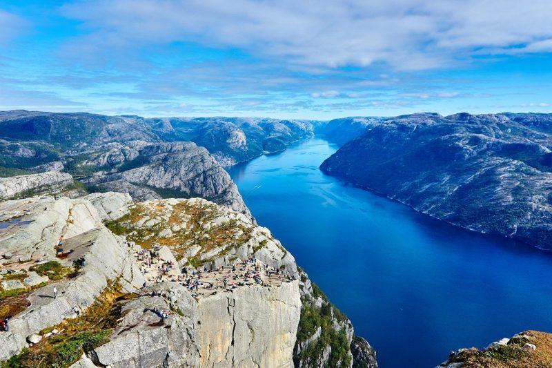 Trabajar en Noruega en el verano